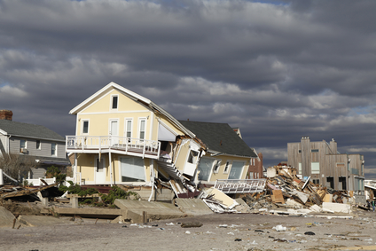 Hurricane Sandy damaged thousands of homes on the East Coast in 2012