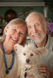 Elderly parents reap the benefits when they have a pet in their lives